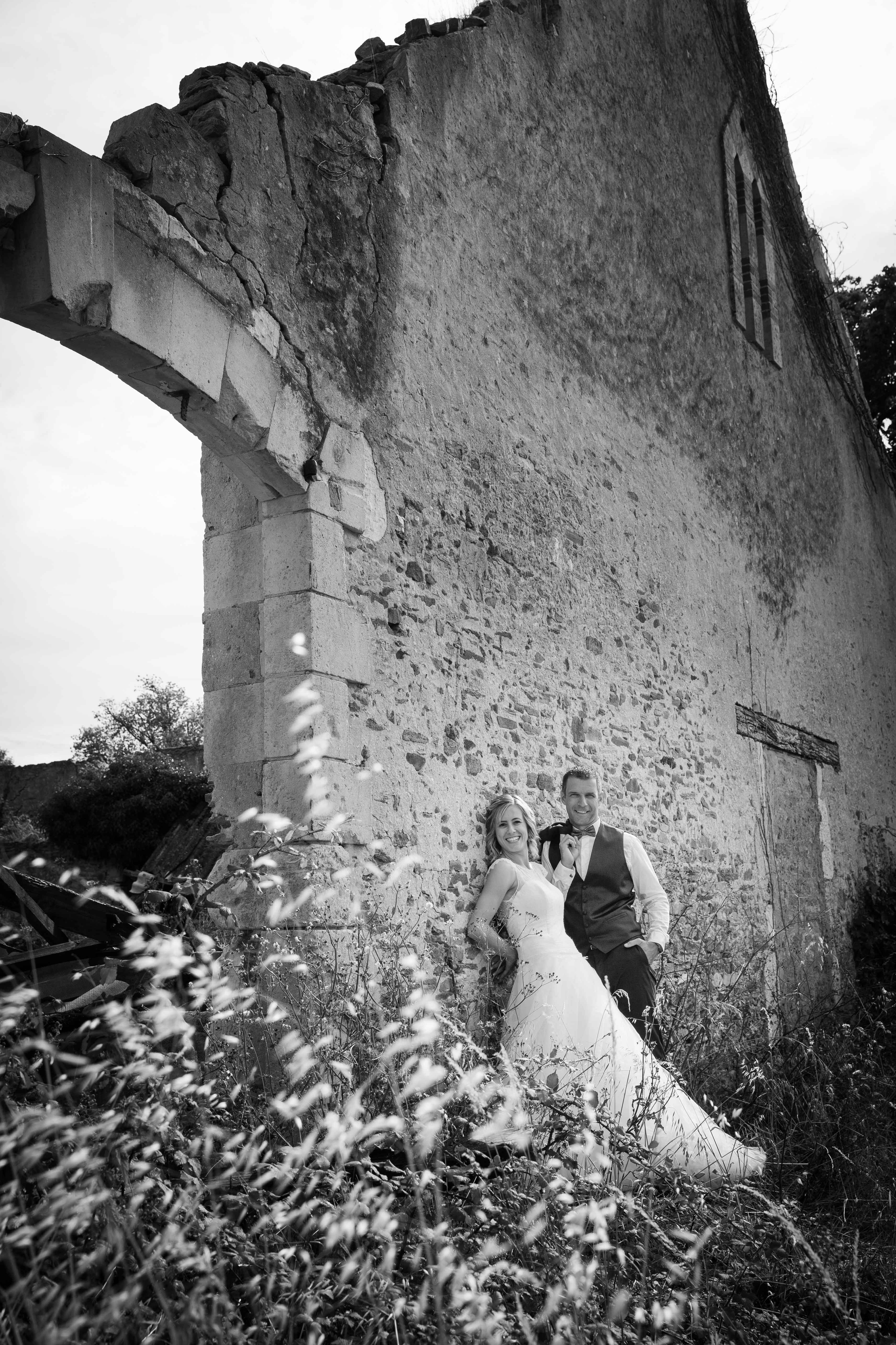 Portrait photo de mariage - couple