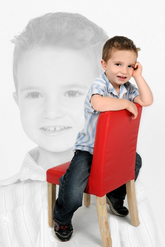 Portrait photo enfant